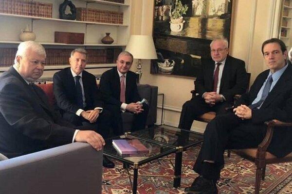 ملاقات دیپلمات های ارمنستان و آذربایجان با مقامات گروه مینسک