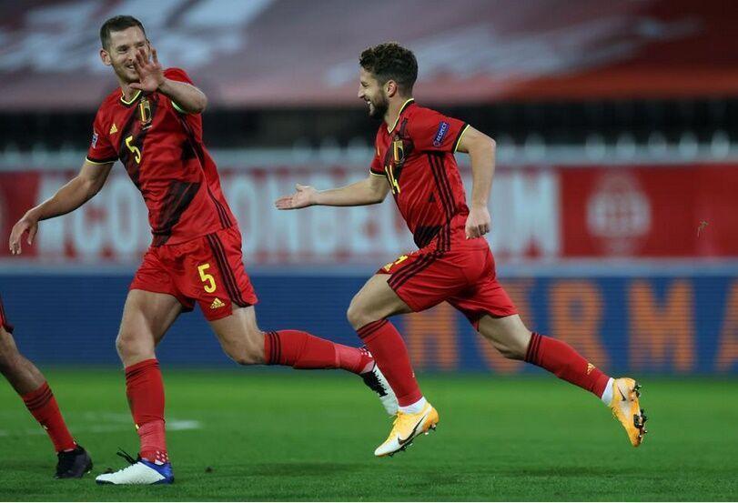 خبرنگاران عبور بلژیک از سد انگلیس و پیروزی ایتالیا