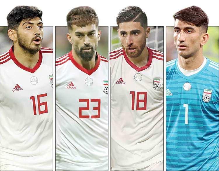 4 ستاره در خطر تیم ملی را بشناسید