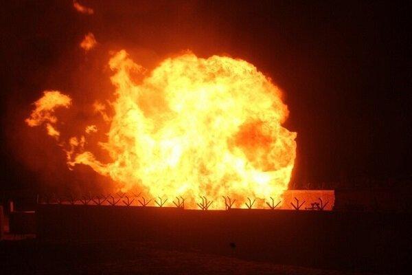 انفجار خط لوله گاز در شمال مصر، داعش برعهده گرفت