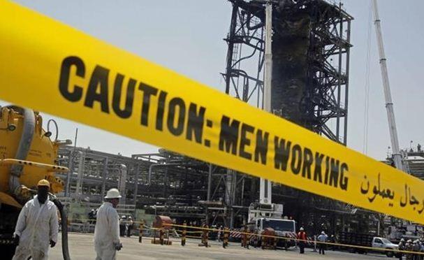 حمله موشکی یمن بخش توزیع سوخت آرامکو را از کار انداخت