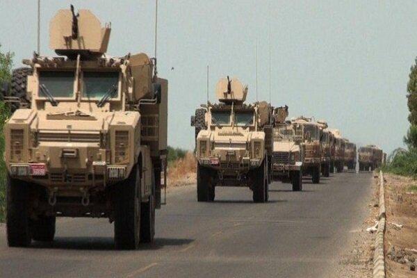 هدف قرار دریافت کاروان لجستیک نظامیان آمریکایی در عراق