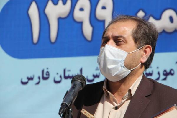ارسال 48 میلیارد ریال تجهیزات آموزشی برای بعضی مدارس فارس