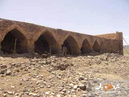 کاروانسرای شگفت انگیز قلعه خرگوشی در بیابان های یزد، عکس