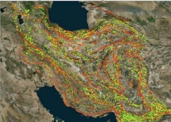 فاز اول تهیه نقشه های زمین شناسی نسل دوم