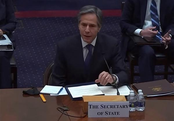 بلینکن: قبل از لغو تحریم های ایران قطعاً با کنگره مشورت خواهیم کرد