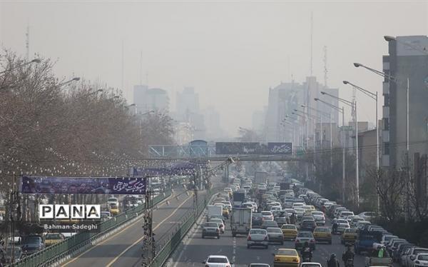 هوای ناسالم در انتظار برخی مناطق شهر تهران