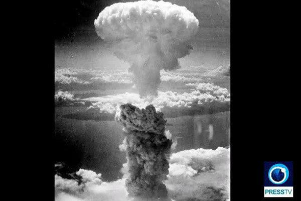 عکس های تکان دهنده قربانیان بمباران اتمی هیروشیما در تلویزیون
