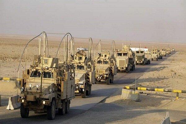 کاروان لجستیک نظامیان آمریکا در بابل عراق هدف قرار گرفت