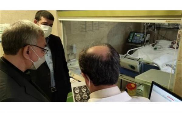 عیادت وزیر بهداشت از طریقت منفرد