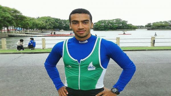 مسابقات قایقرانی قهرمانی دنیا، نبی رضایی در فینال B سوم شد