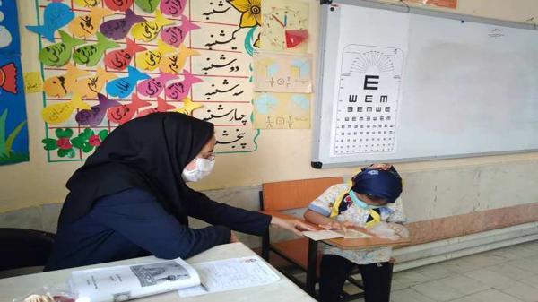 انتها طرح سنجش سلامت نوآموزان در فیروزآباد